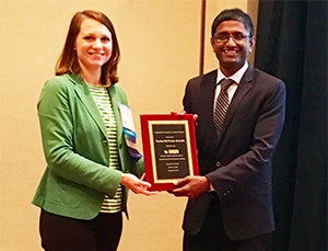 SBHSE Grad Student Receives American Association of Pharmaceutical Scientists Award