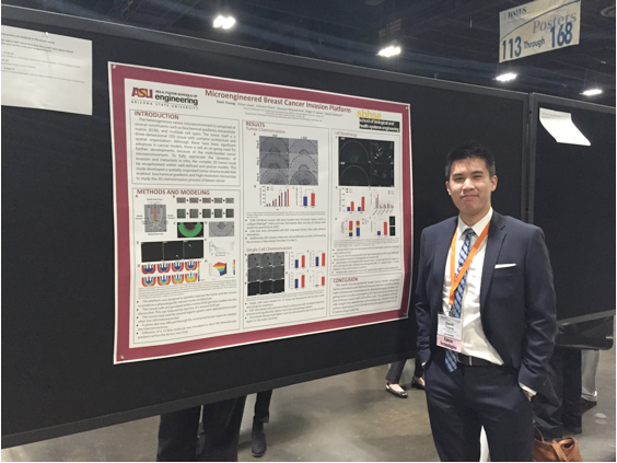 SBHSE student Danh Truong wins competitive IFER fellowship